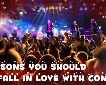10 Reasons You Should Fall in love with Concerts