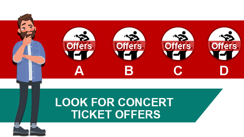 Look for Concert Ticket Offers