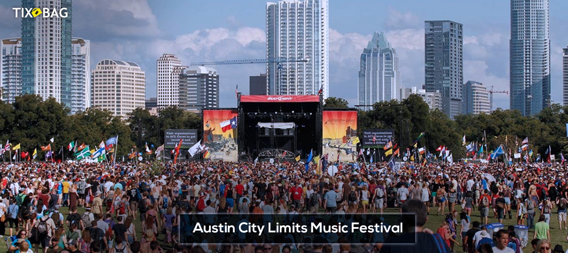 Austin City Limits Music Festival Tickets