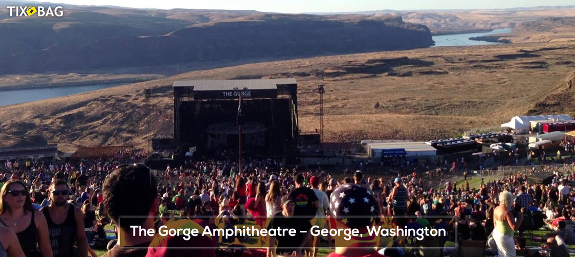 The Gorge Amphitheatre Tickets