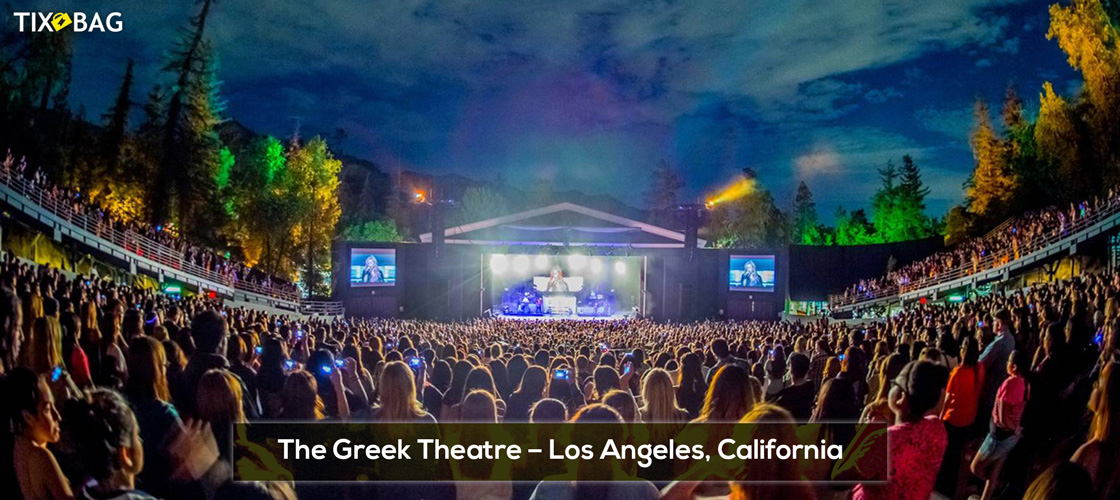 The Greek Theatre Tickets