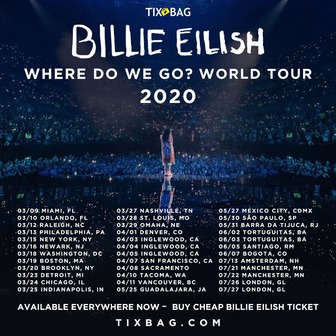 Billie Eilish World Tour 2020